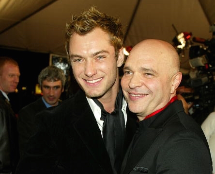 Anthony Minghella and Jude Law Getty images